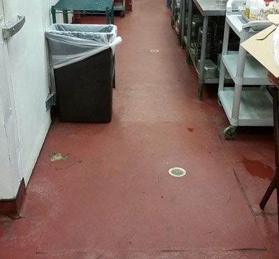 Commercial safety flooring