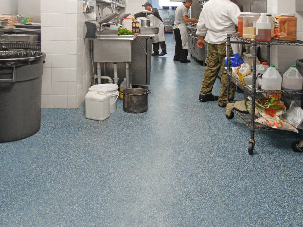 epoxy flooring for kitchens in correctional facilities