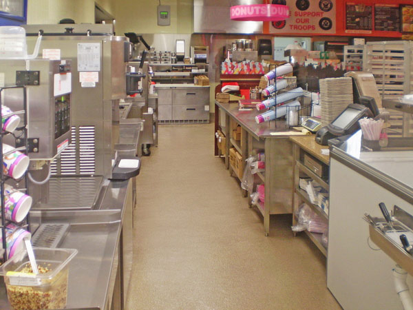 epoxy flooring commercial kitchen