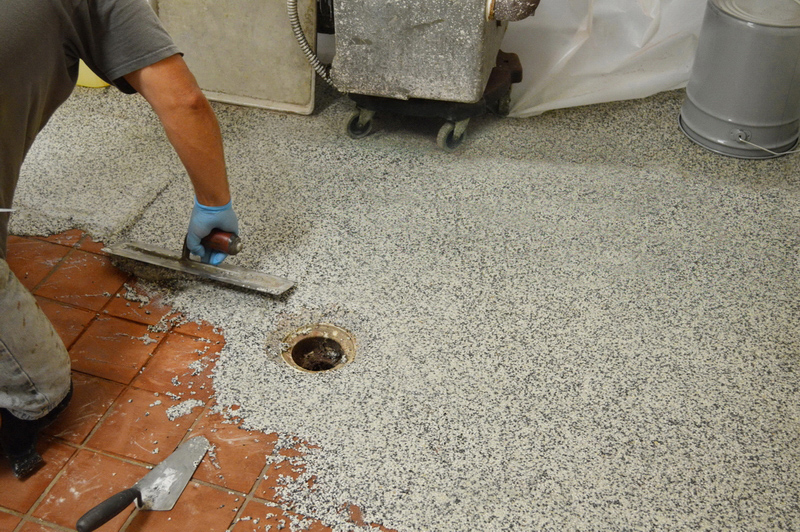 Fast Dry Epoxy Floors Are Ready Overnight Minimal Downtime