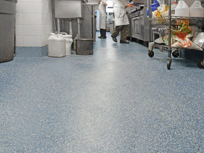 Non slip anti skid epoxy safety floor