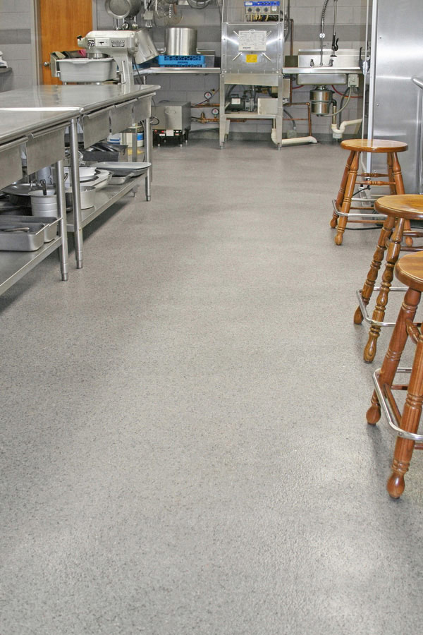 Commercial Restaurant Kitchen Epoxy Floor