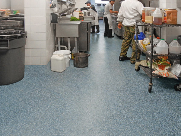 Non Slip Antiskid Epoxy Safety Floor