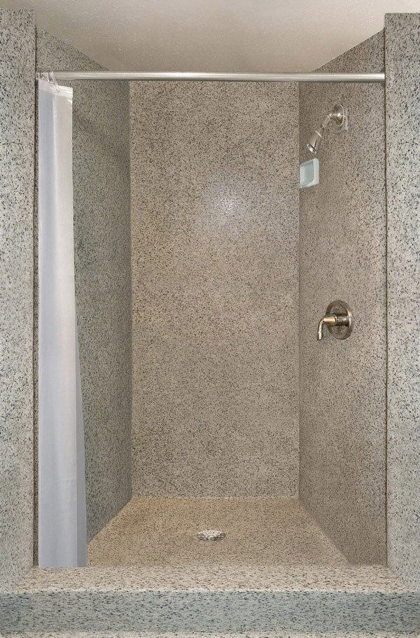 Genial Shower Wall Coating