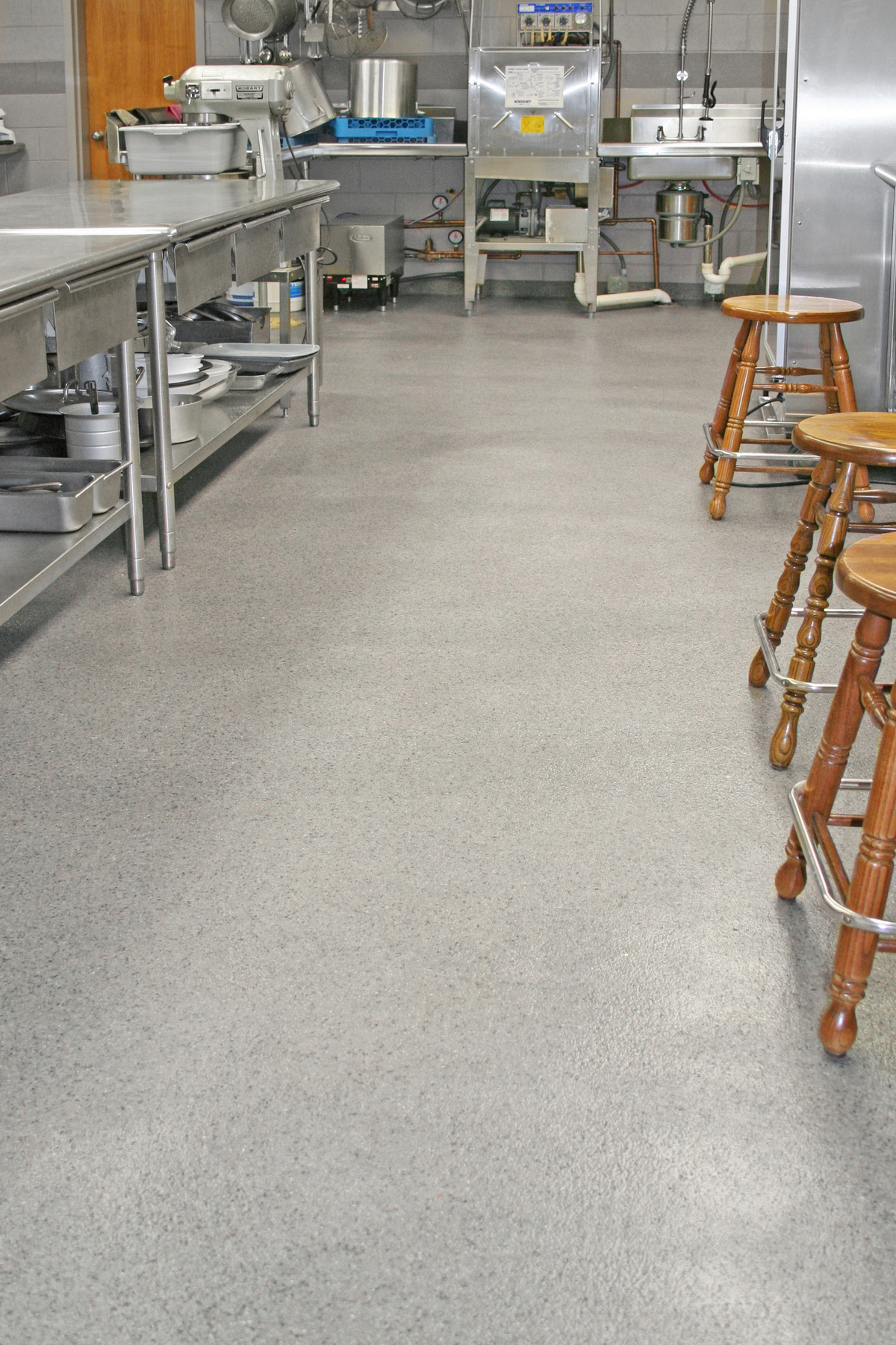 flooring for restaurant kitchens everlast epoxy floor gallery ideas for floors 3461