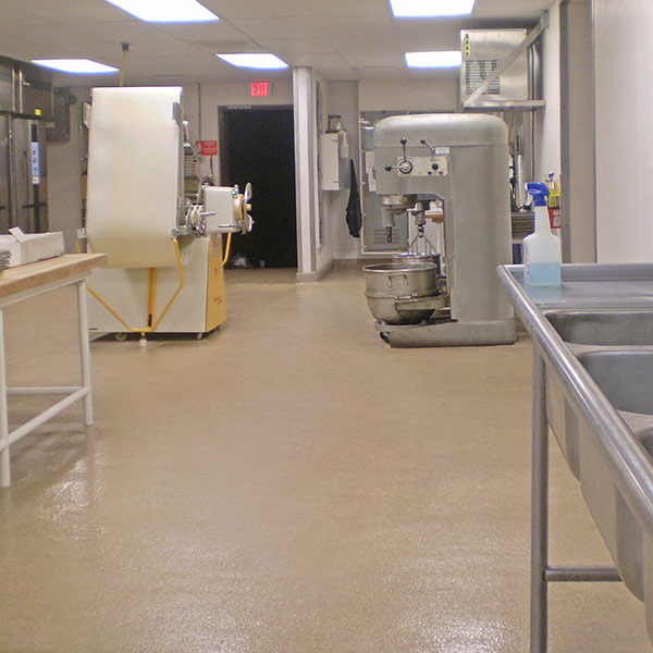 Easy To Clean Commercial & Industrial Flooring