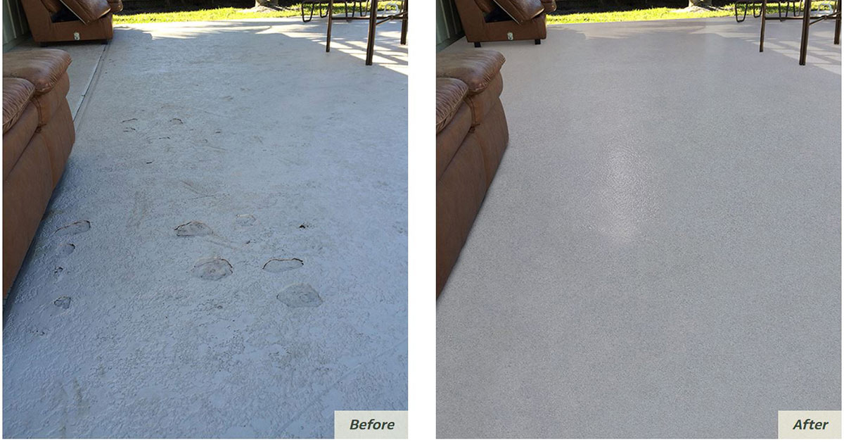 Avoid Cool Deck Repainting Amp Maintenance With Outdoor